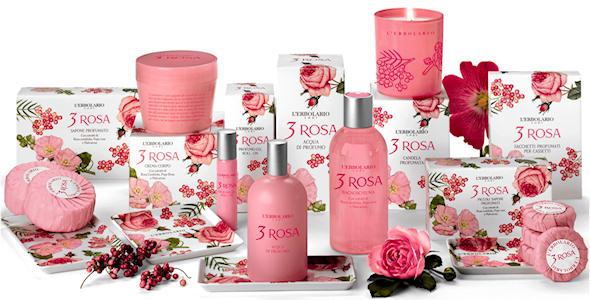 profumo 3 rose erbolario