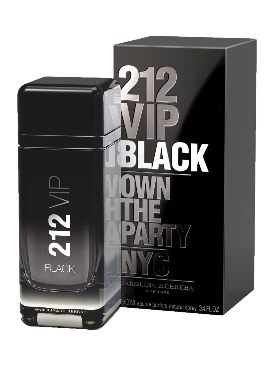 212 VIP Black di Carolina Herrera da uomo