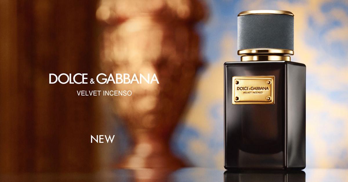 Dolce Gabbana Velvet Incenso العطر الجديد من دولتشي آند غابانا إصدار جديد