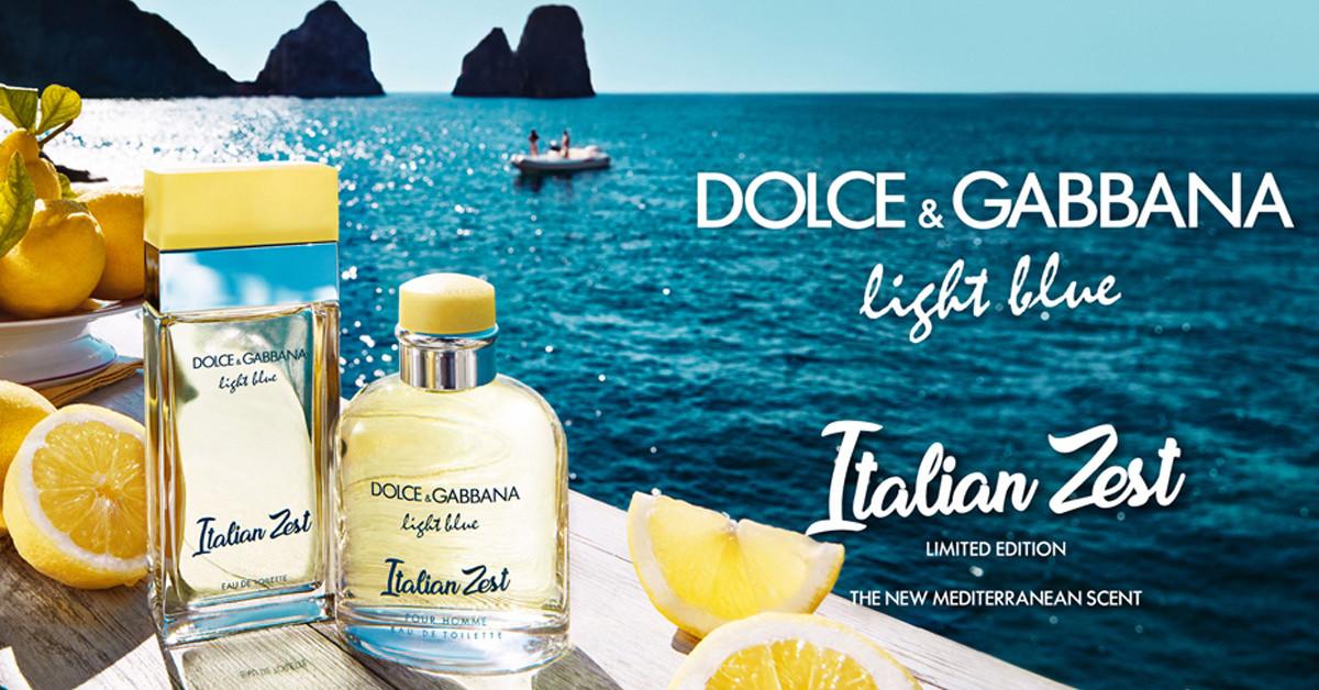 Dolce & Gabbana Light Blue Italian Zest 100ML confezione bianca